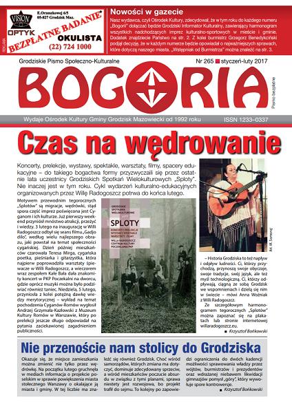 Bogoria nr 265 styczeń-luty 2017