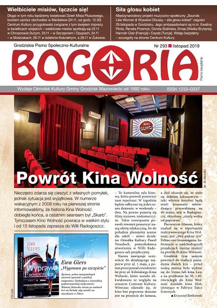 Bogoria nr 293 listopad 2019