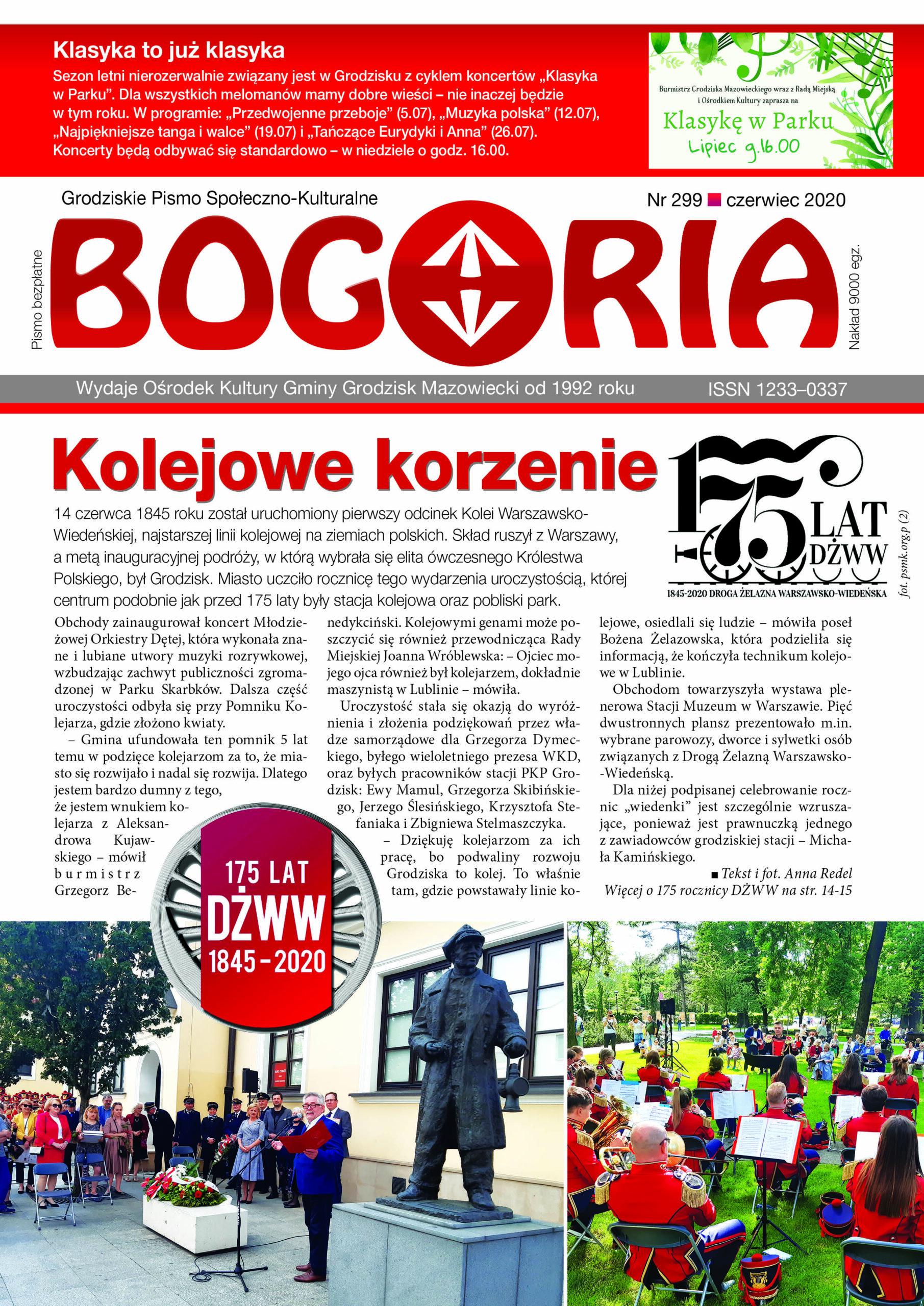 Bogoria nr 299 czerwiec 2020