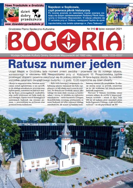 Bogoria nr 310 lipiec-sierpień 2021