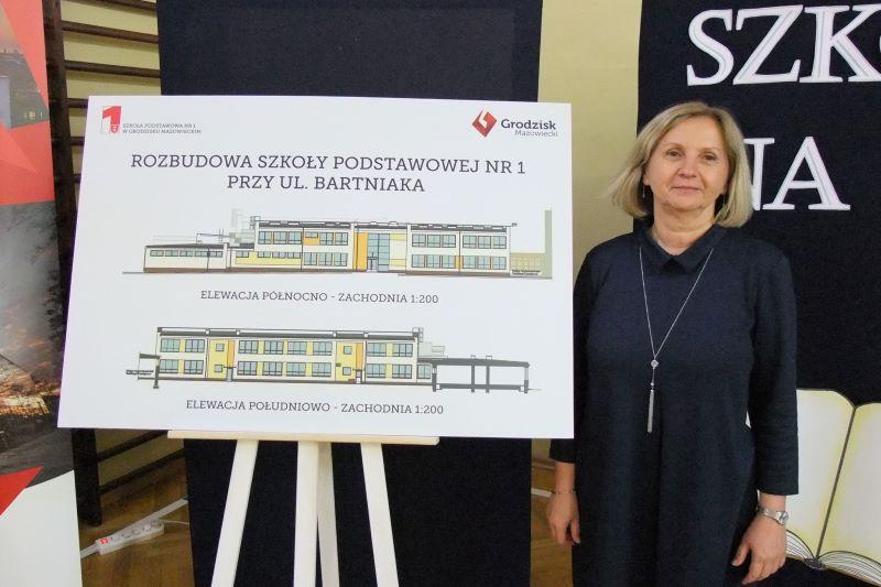 Rozbudowa szkoły na Bartniaka