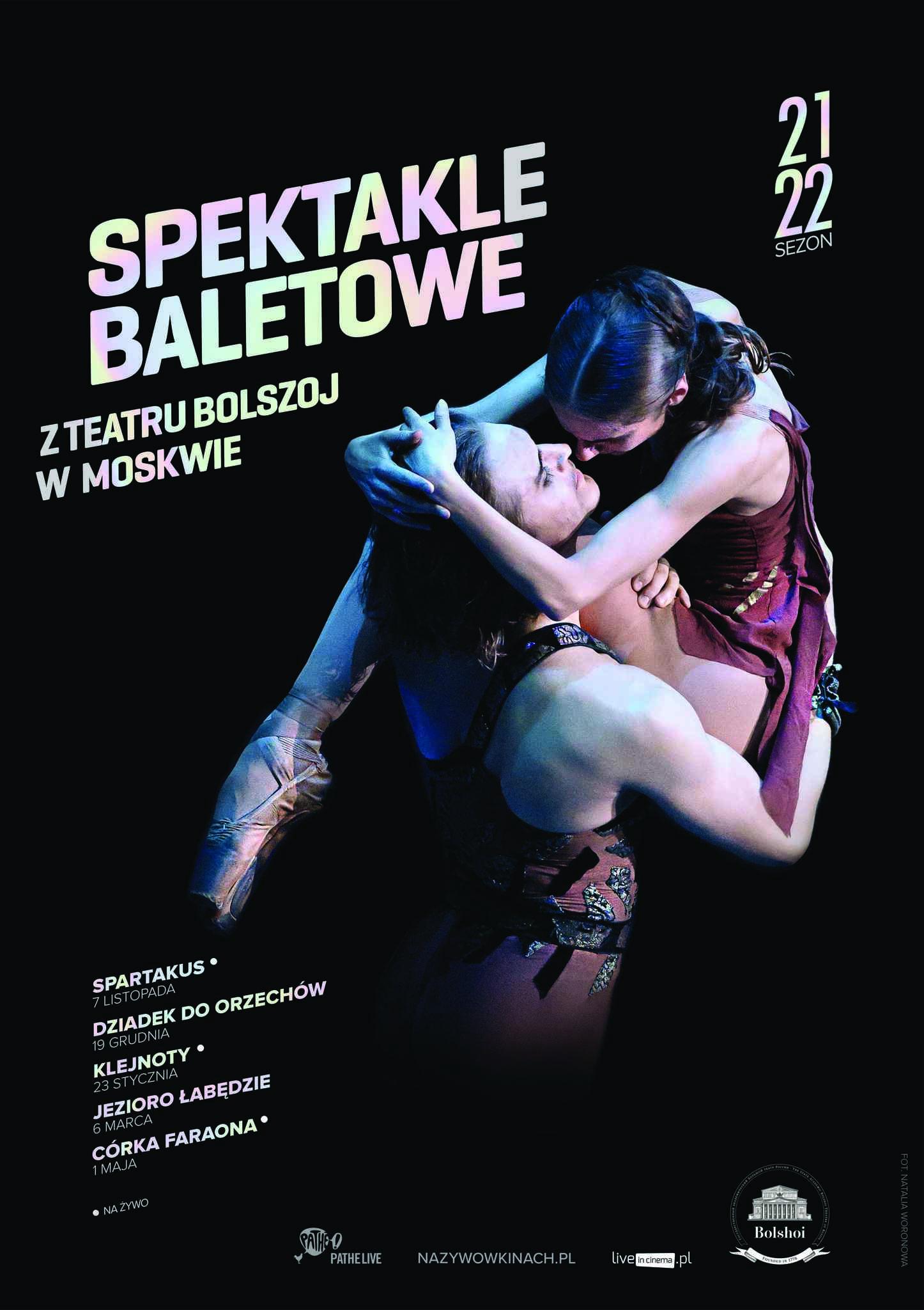 Bolshoi Ballet Live 2021/2022
