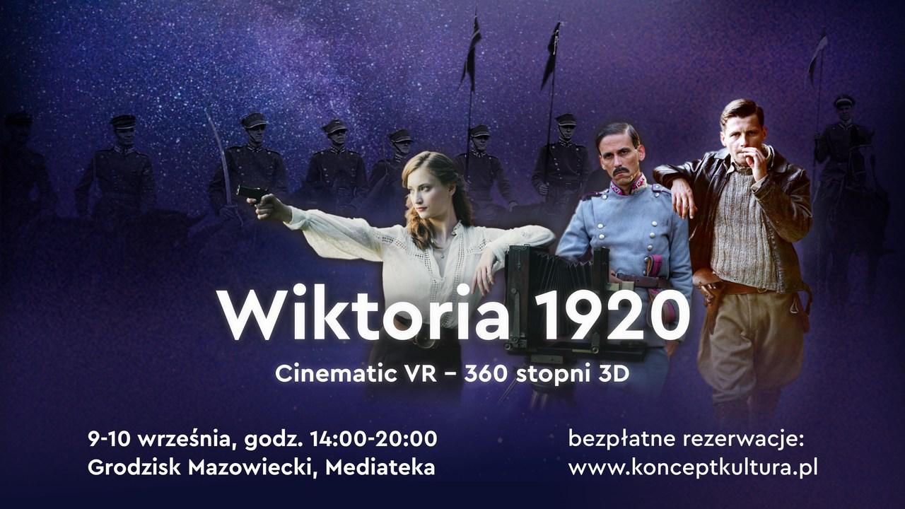 """Wirtualny Teatr Historii """"Wiktoria 1920"""" – film w technologii VR"""