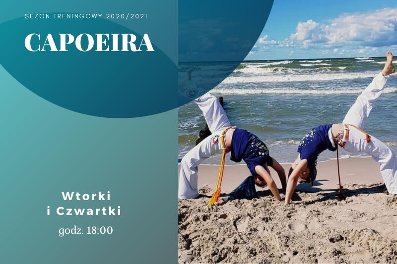 Capoeira - plakat informujący