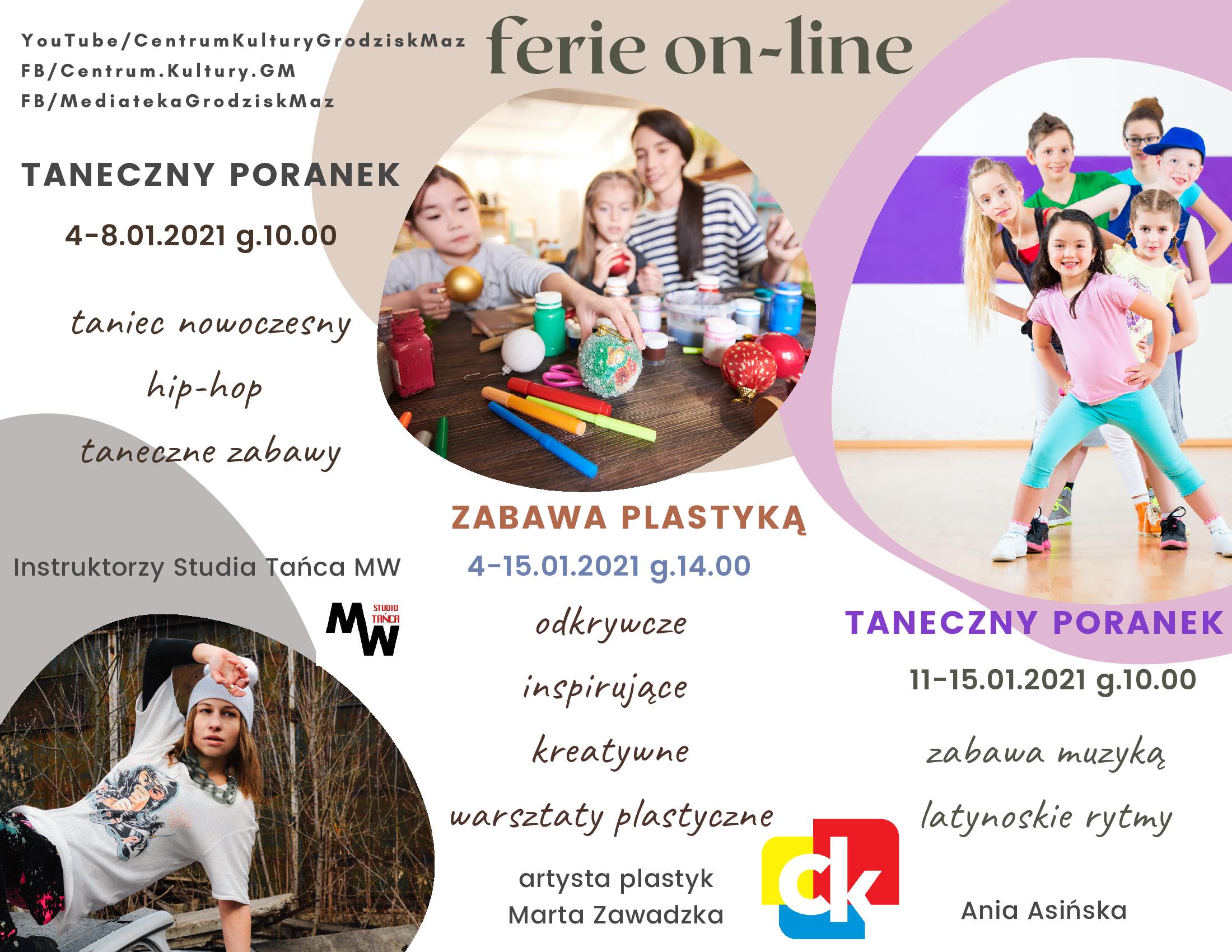 Ferie zimowe on-line