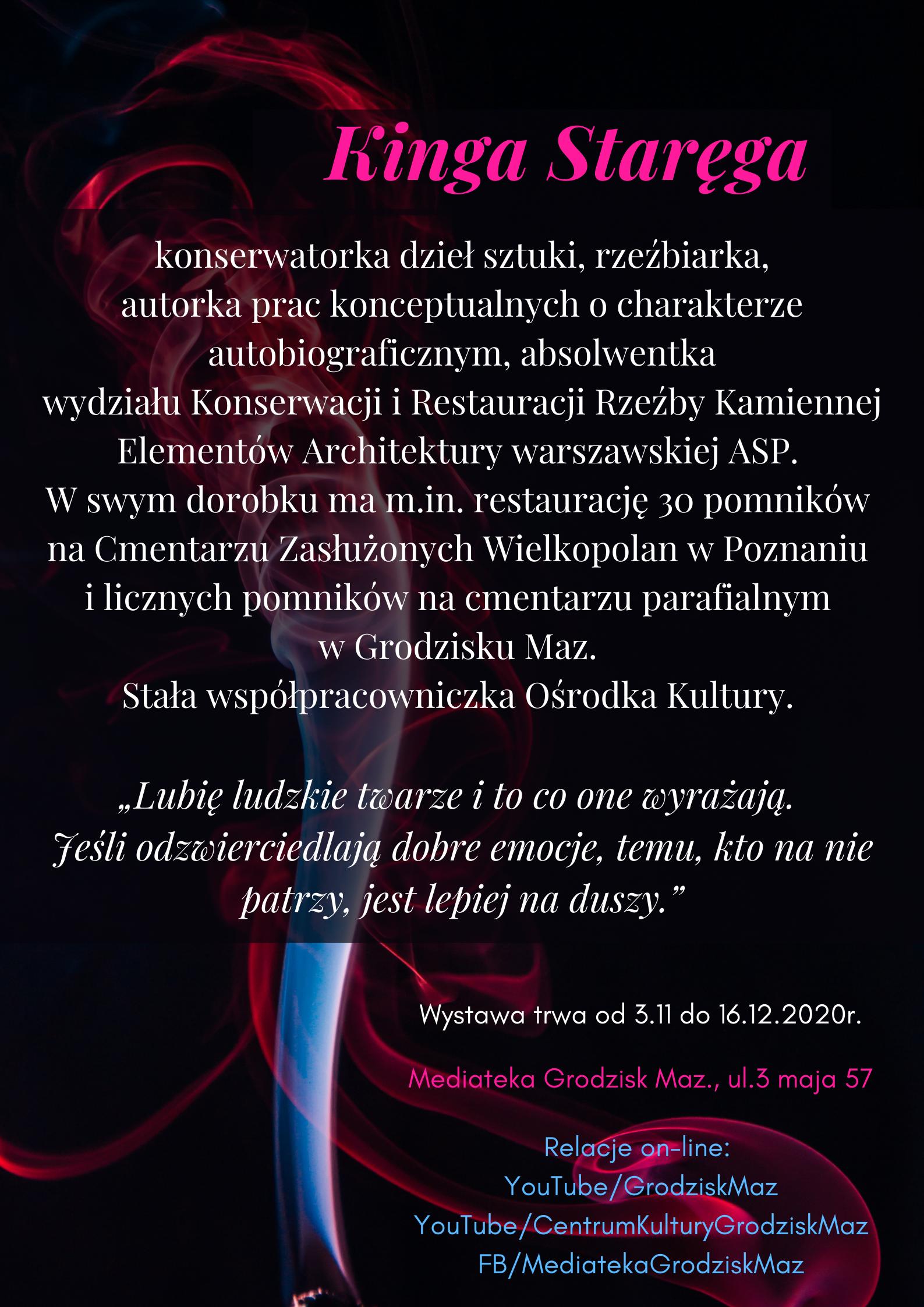 """""""To będzie na wieczność"""" wystawa pamięci grodziskich artystów – Kinga Staręga"""