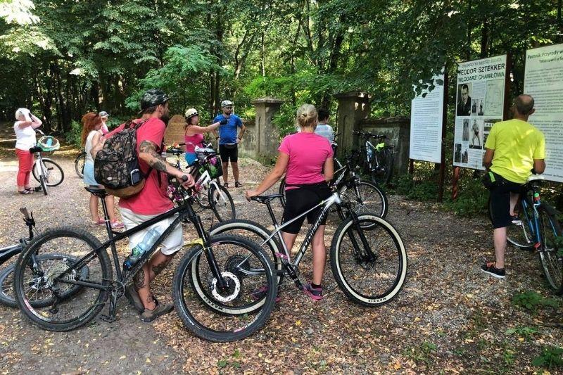 Relacja z wycieczki rowerowej do Chawłowa i Żabiej Woli